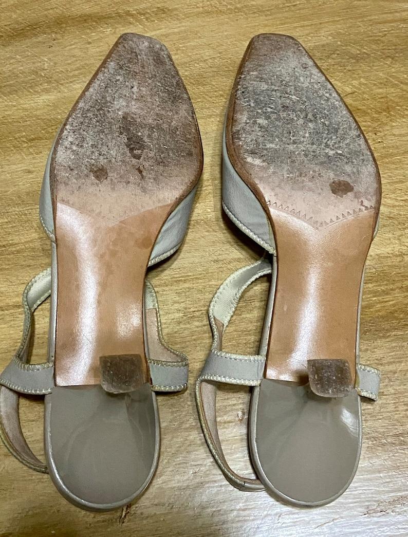 Vintage Prevata Kitten HeelWomen\u2019s accessoriesTaupeMade in ItalyWomen\u2019s ShoeSize 7 12 Women\u2019s Fashion