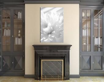 Floral Nature Photograph Infrared Flower - Fine Art Canvas - Home Decor Unframed Wall Art Prints