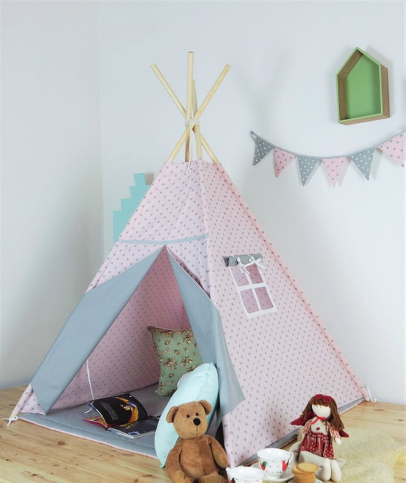 kinder tipi playtent tipi zelt tipi kinder tipi zelt. Black Bedroom Furniture Sets. Home Design Ideas