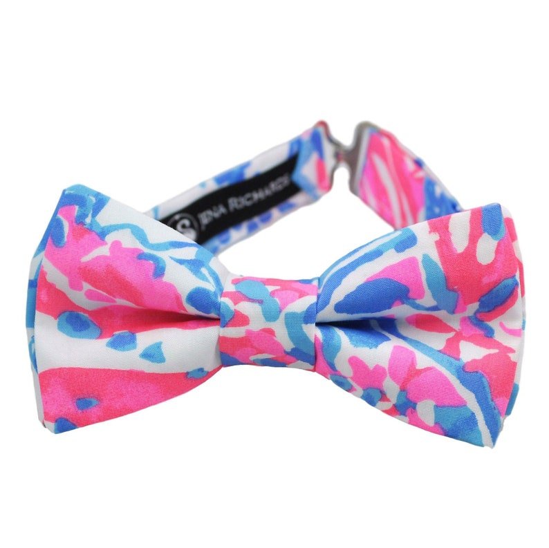 fca393d53030 Pink and blue bow tie for boys for baby boy for men bow tie | Etsy
