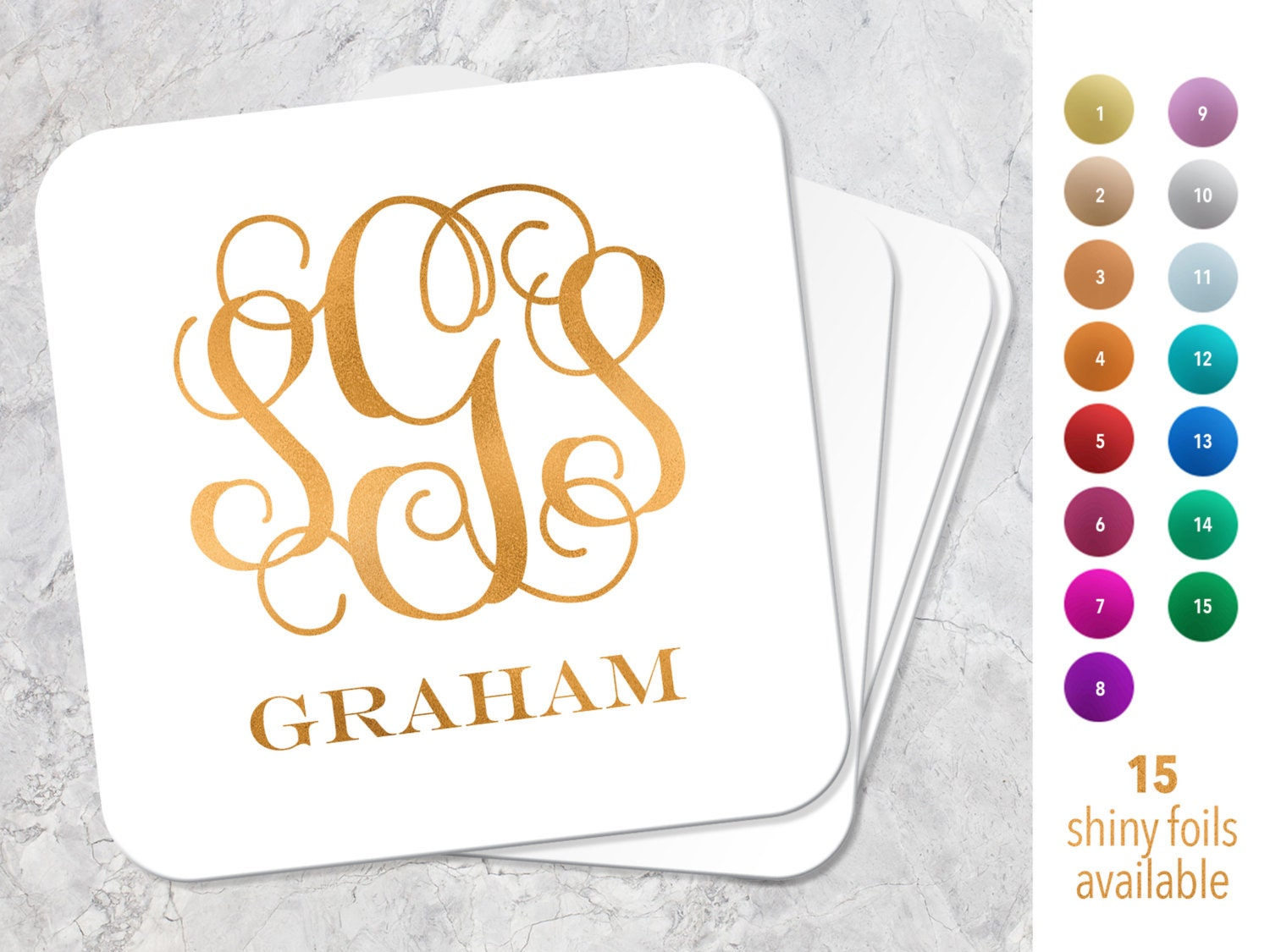 Fine Personalized Coasters Wedding Favors Embellishment - Wedding ...