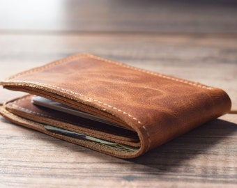 Classic Bifold Wallet,  Mens leather wallet,  Leather wallet, Personalized wallet, Monogrammed wallet, Awesome gift wallet