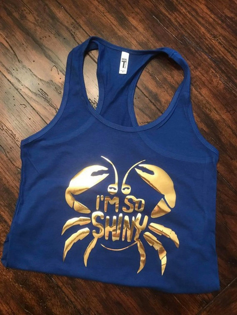 "Tamatoa /""Shiny/"" Disney/'s Moana Ladies Black Vest Top"