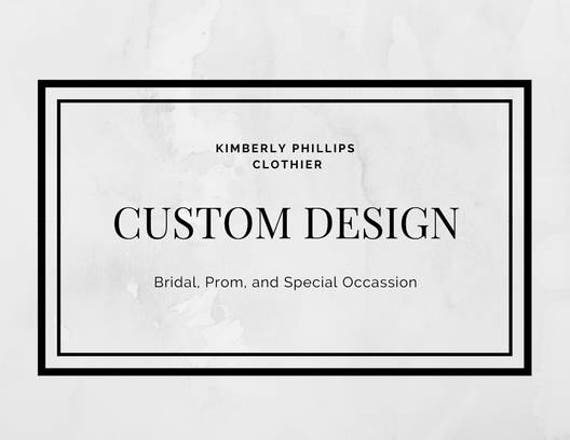 Custom Design Dress