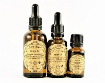 Double Sunnah Organic Fragranced Beard Oil