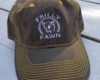 7f2a4b30119 Army Green Distressed Hat