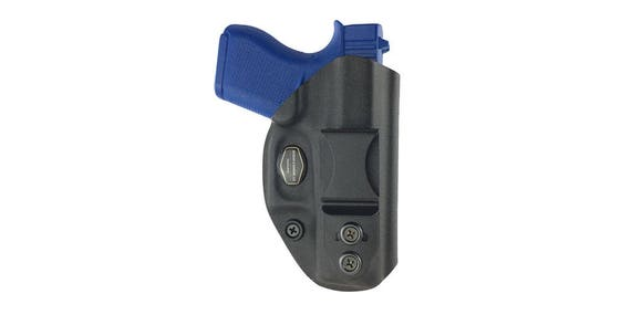 Glock 43-Kydex Holster Right Hand Black IWB or Appendix | Etsy