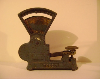 Child's early Cast Iron Toledo Scales