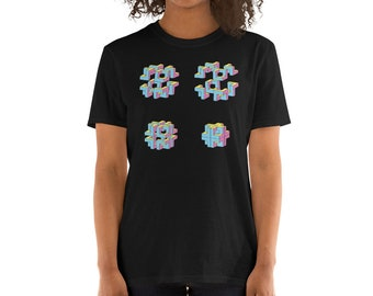 Cubes and Colors T-Shirt