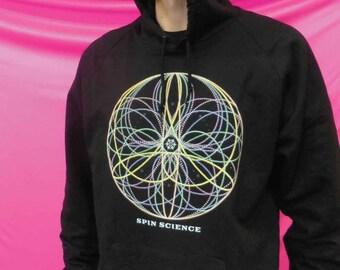 Flower Mandala Hoodie - Made in USA
