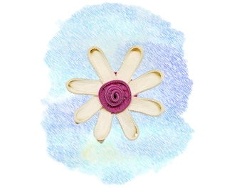 Small Zipper Flower # 5 - Wagamuffins exclusive|Limited Edition|Boho|Bohemian chic|Gifts for dogs