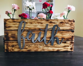 Wood Wall Decor Wall Words Farmhouse Sign- Farmhouse Wall Decor- Country Home Decor- Farmhouse Home Decor- Wood Sign-