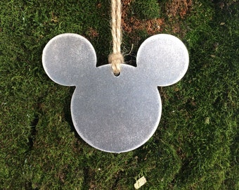 Mouse Christmas Ornament, Christmas Decor, Rustic Christmas, metal ornaments, unique christmas gifts, ornament swap