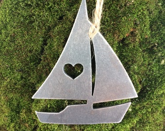 Nautical Sailboat Ornament