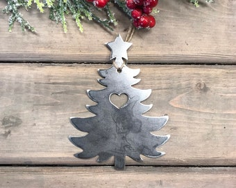 Christmas Tree Christmas Ornament, Christmas Decor, Rustic Christmas, ornament swap idea, traditional ornaments