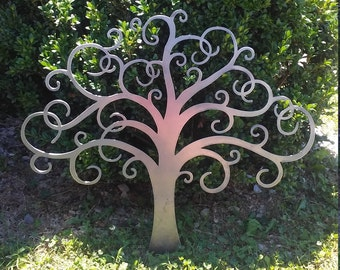 Tree of Life Metal Sign - Metal Wall Art- 24 inch or 36 inch