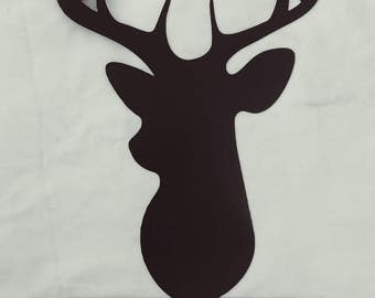 Deer Silhouette Customized Sign