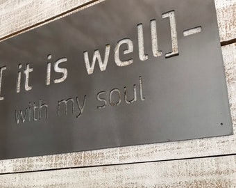 Metal Quote Signs