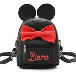 Personalized Minnie Backpack - Minnie Backpack - Personalized Backpack - Disney inspired Backpack - Back to school - Disney Purse