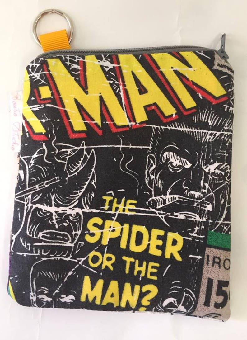 Spider Man Coin Purse  Boys Purse  Zipper Purse  Small Bag image 0