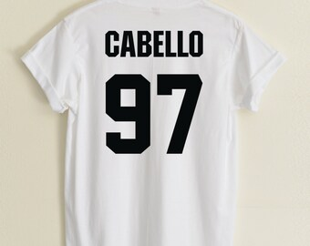 452f66103 Camila Cabello shirts CABELLO 97 Tshirt Hipster Street Unisex Women&Men  Clothing Cotton100 COMP#32