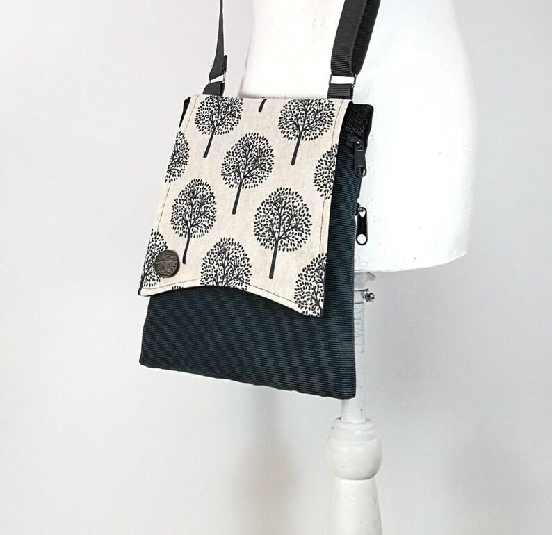 Small crossbody bag purse All fabric bag Crossbody Bag Sling  0c349ace29062