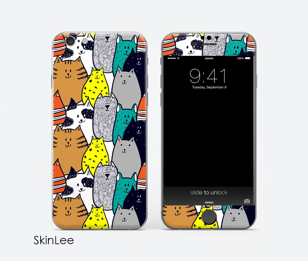 Cat iphone 6s decal iphone 6s case iphone 6s skin iphone 6s etsy