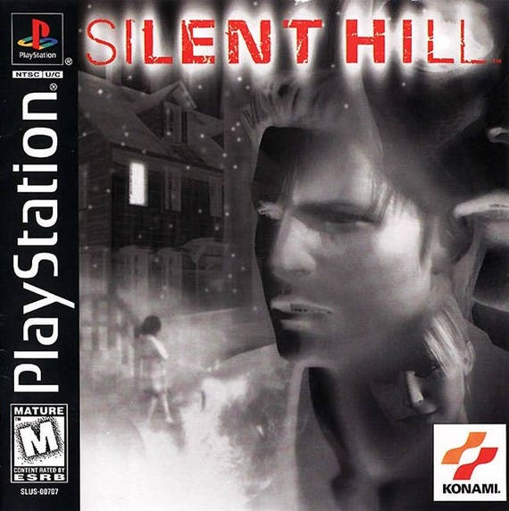 Silent Hill Ps1 Great Condition Fast Shipping Etsy