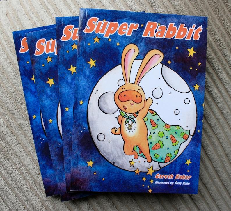 Super Rabbit  Children's Book  Illustrated Kids Book image 0