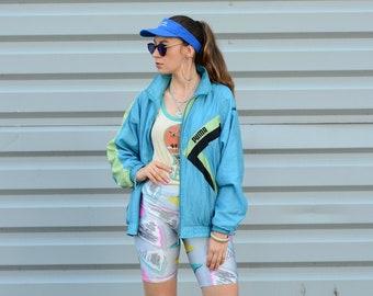 932537bf3b324 Puma nylon jacket | Etsy