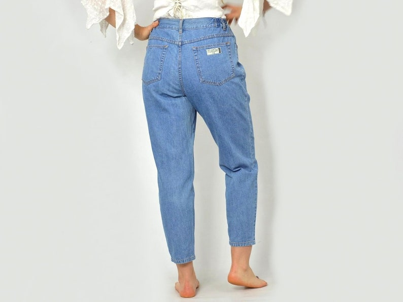 53693e7208 Vintage mom jeans Loose fit pants High waisted pants Little