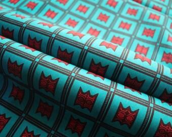Wax print cloth - wax print African fabric per yard - African Fabric - African Textile Fabric  - African Print - Fabric per yard