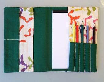 Malmappe mit Stiften & Block (Din A5)