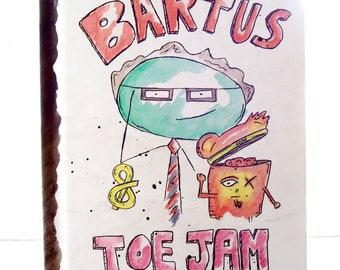 Book | the Oddventures of Bartus & Toe Jam: Doughnuts, Dungaree and Disciples