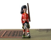 Vintage 1930 39 s Britains Ltd Royal Scots Scottish Guards Miniature Lead Toy Soldier