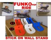 Custom Funko Pop Ride Display Stand - Ride Funko Pop Display - Ride Funko Display Stand - custom pop vinyl wall stand - Funko Pop Shelf POP