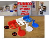 Floating Funko Pop Wall Stand, No screws needed, Floating shelf collectable Stand. Custom Funko Pop Stand for Pop Figure. Funko Pop Display