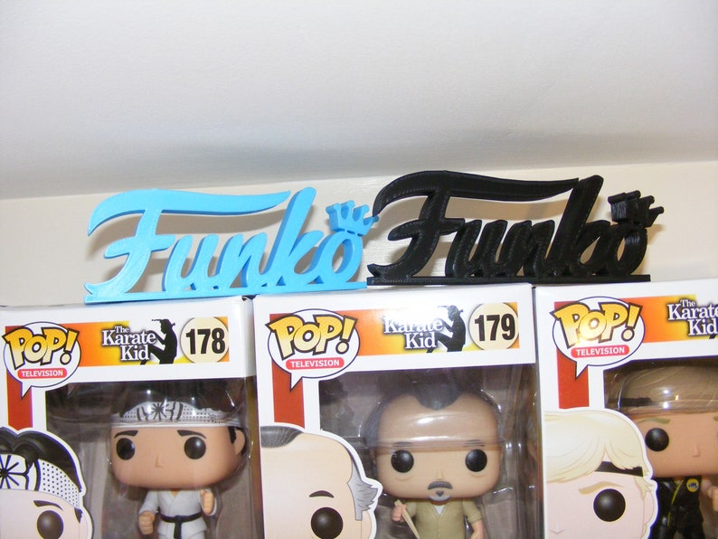 POP Funko. Create a custom display on your Funko POP Shelf The Funko Logo a must for any Funko Collector Make your Funko Display Pop