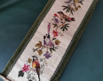 Herbst Blume Stickpackung mit Perlen Stickset Stickvorlage Stickbild 75