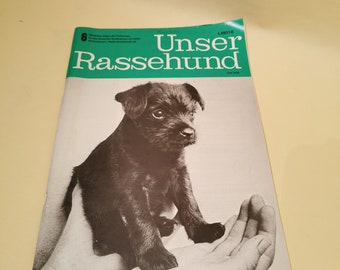 Journal Our Breed Dog 1975 Vintage Newspaper Magazine