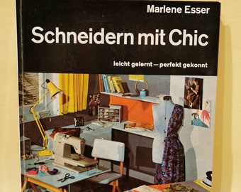 Specialist book sewing handbook around 1966 Handmade tailoring with chic - easily learned perfectly skilful