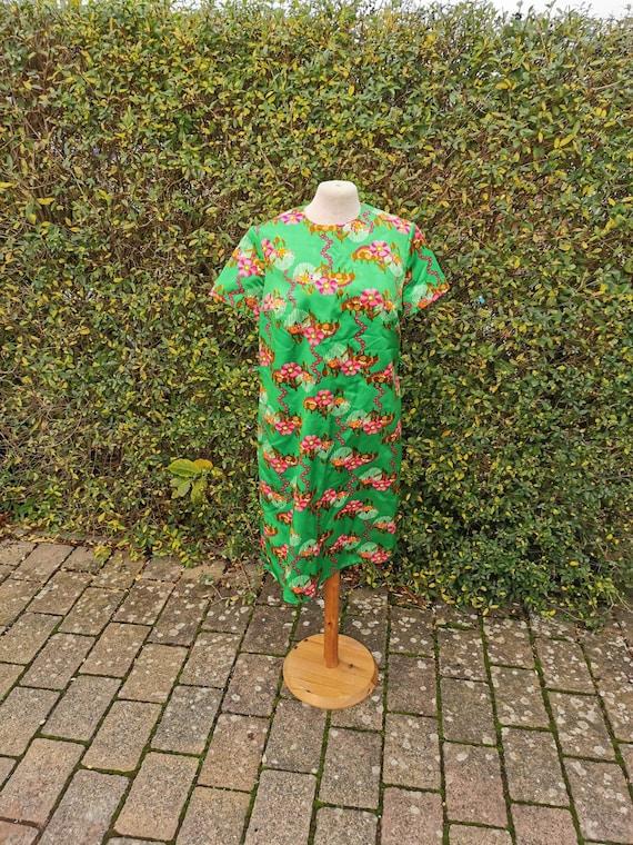 Vintage smock dress dress smock 70s retro prilflow