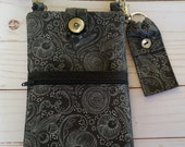 Cell Phone Purse with Adjustable Strap and Chapstick Holder