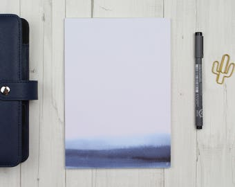 "Notepad ""watercolor blue"" - A5 - 50 sheets"