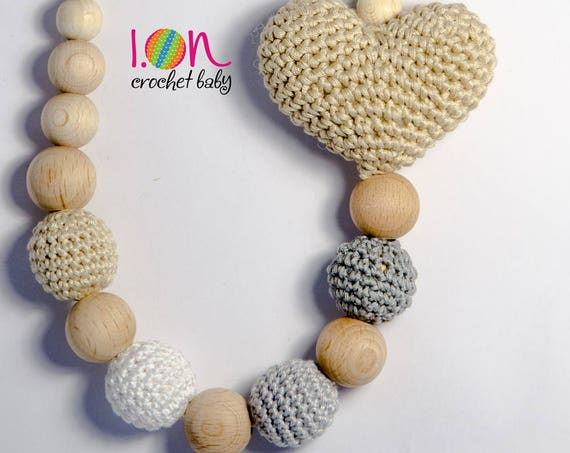 Heart Shaped Nursing Necklace