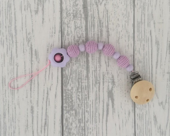 Customizable Pacifier Holder
