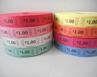 One Dollar Raffle Tickets