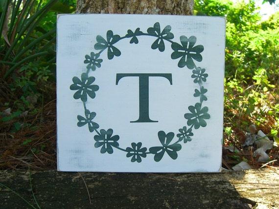 Shamrock St Patricks Day Wooden Sign Luck Of The Irish Etsy