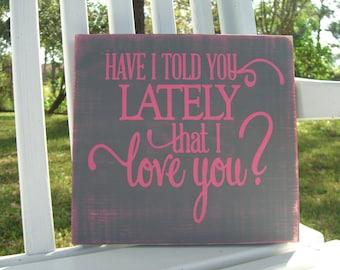 Baby Nursery Wall Art Wooden Sign/Anniversary Gift/Engagement Photo Prop/Children Room Decor/Proposal Photo Prop