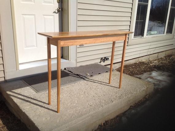 Spiksplinternieuw Solide Cherry Shaker stijl hall/Bank tafel   Etsy AU-51